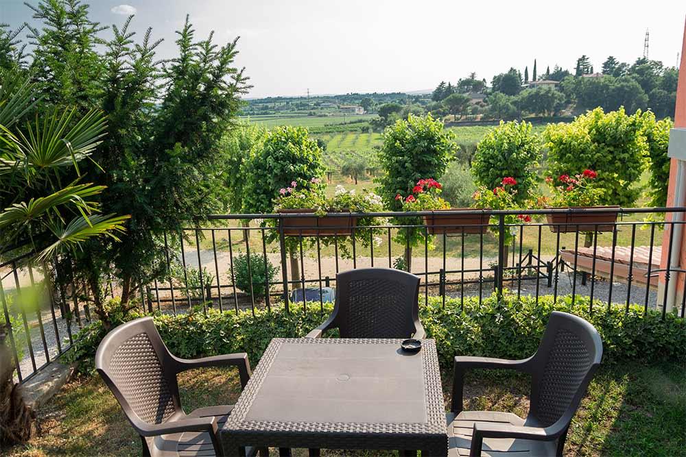 Garden and terrace - Agrotirosmo Al Colle