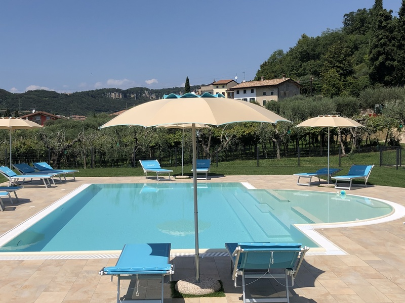 Agriturismo Al Colle - garden, terrace and pool