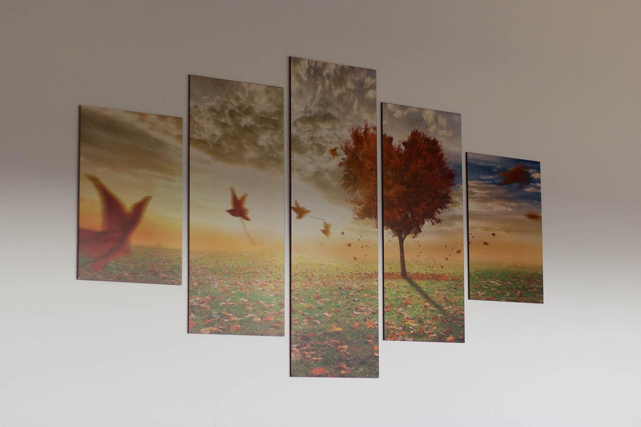 Dettaglio della camera: composizione di quadri